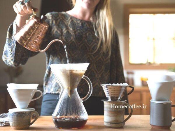 اشتباهات رایج دم کردن قهوه
