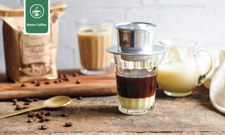 دم آوری قهوه ویتنامی