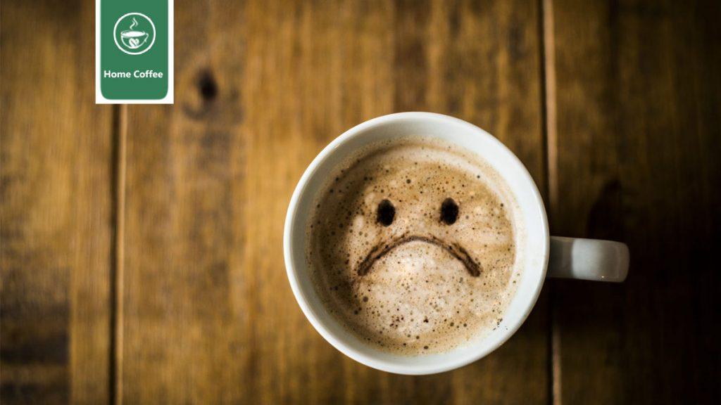 فنجان قهوه بد
